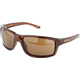 Oakley Gibston Sunglasses, polished rootbeer/prizm bronze